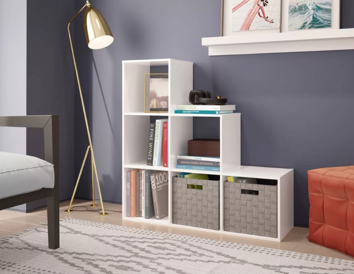 Target Tiered shelving Unit Storage Furniture