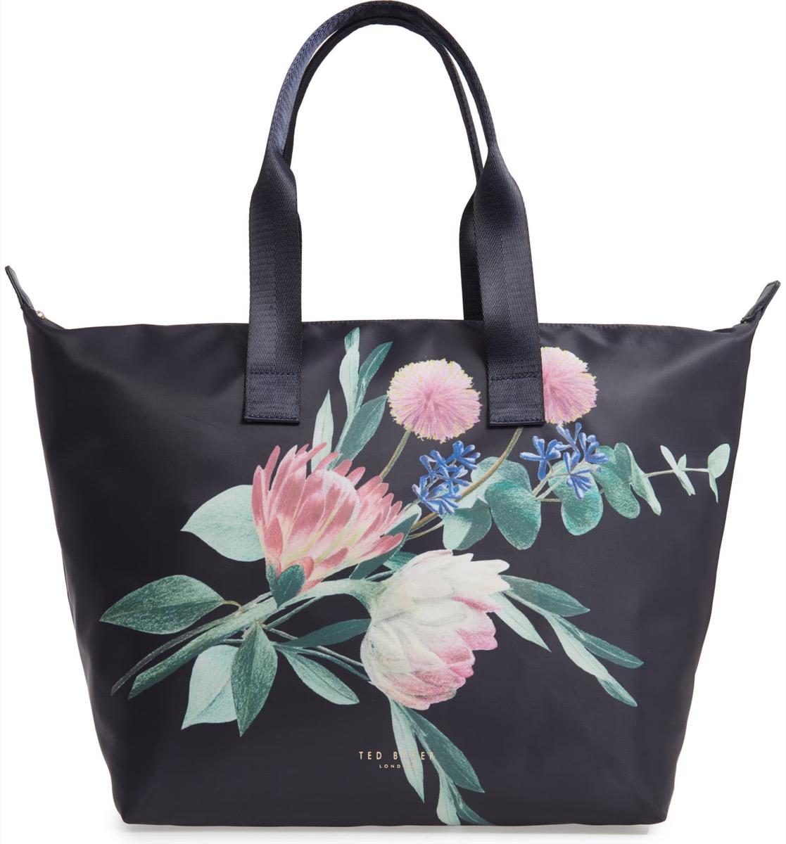 black floral tote, Nordstrom anniversary sale