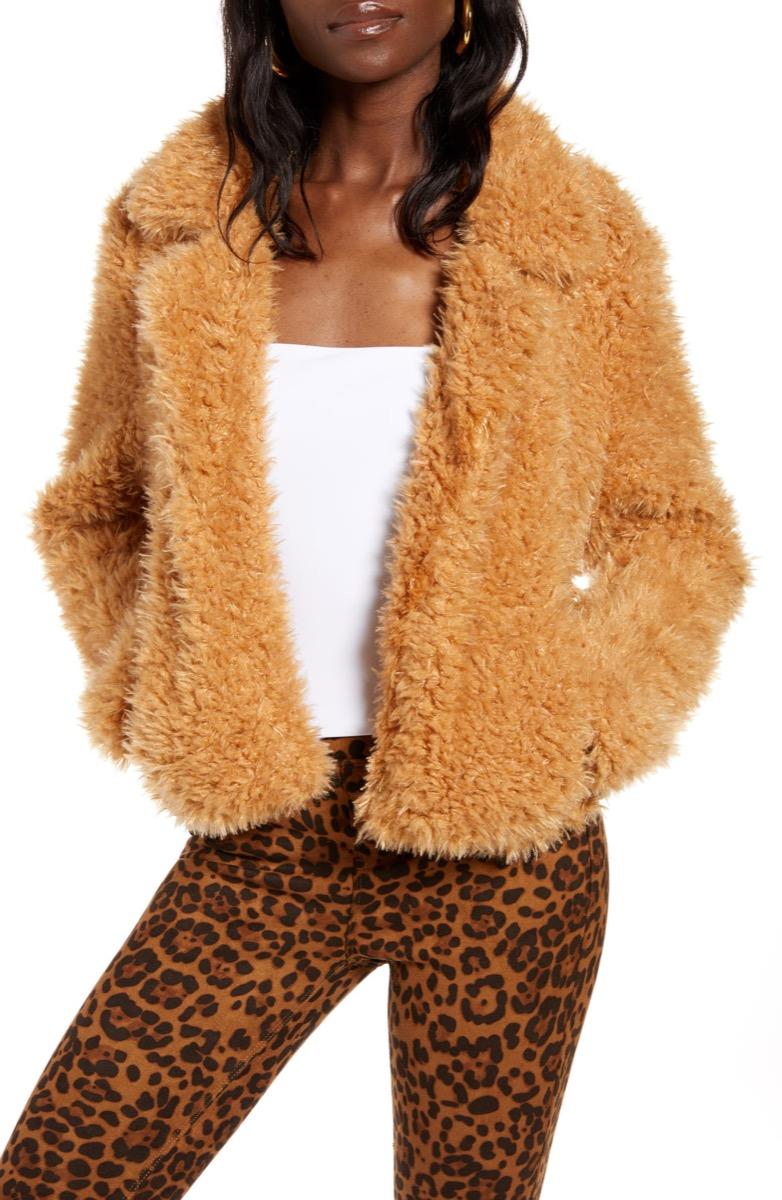 teddy bear coat, Nordstrom anniversary sale