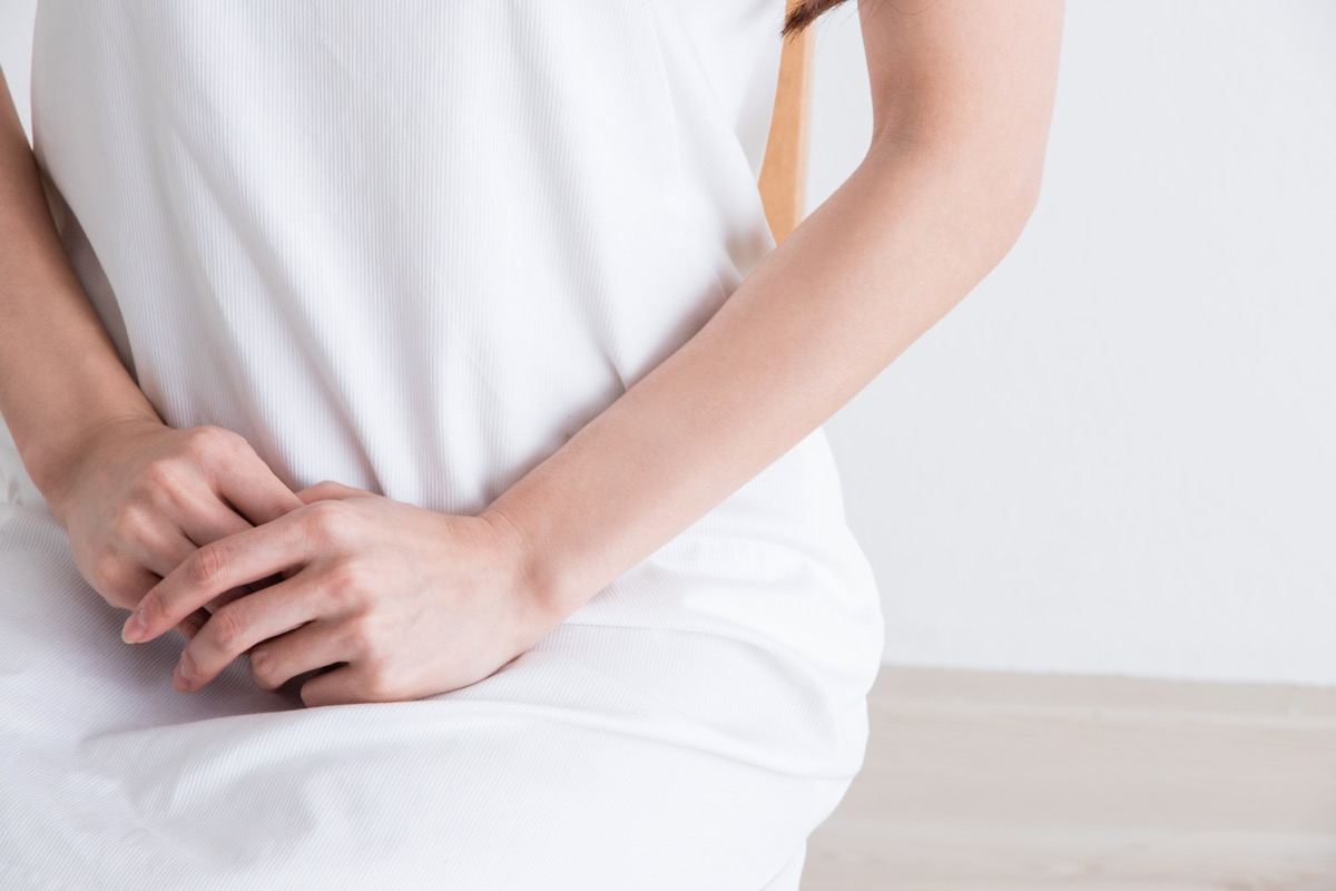 woman with possible uterine cancer symptoms