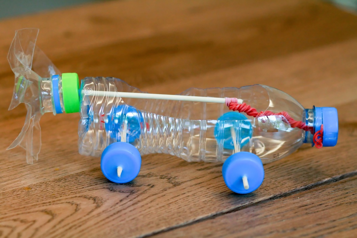 Water Bottle Toy Car Water Bottle Second Uses