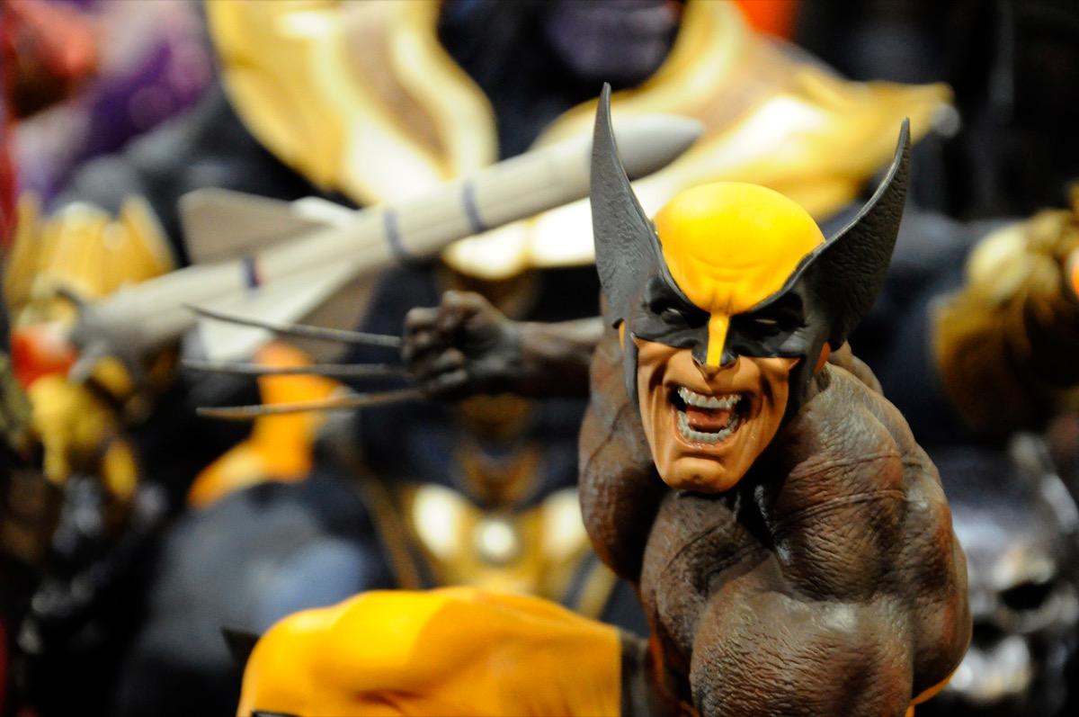 x-men figurines, state world records