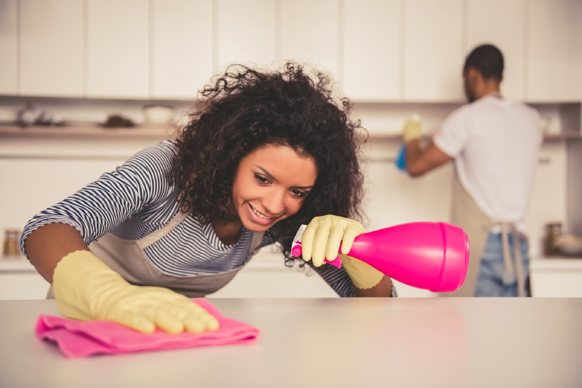 couple cleaning home, cleaning mistakes