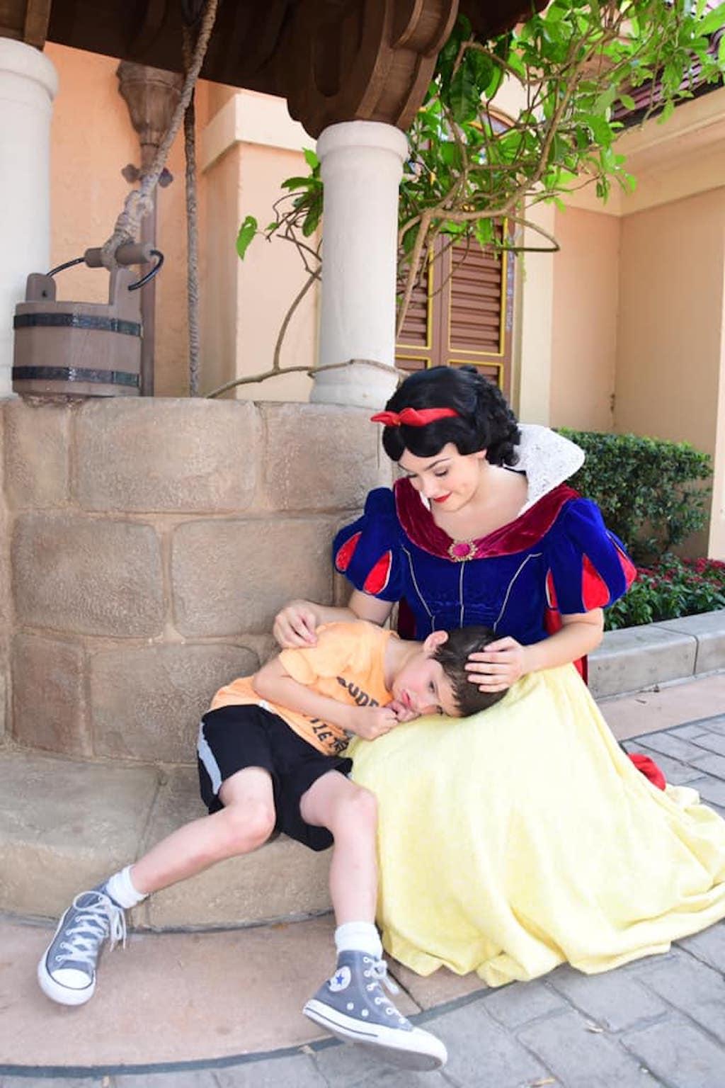 snow white autism