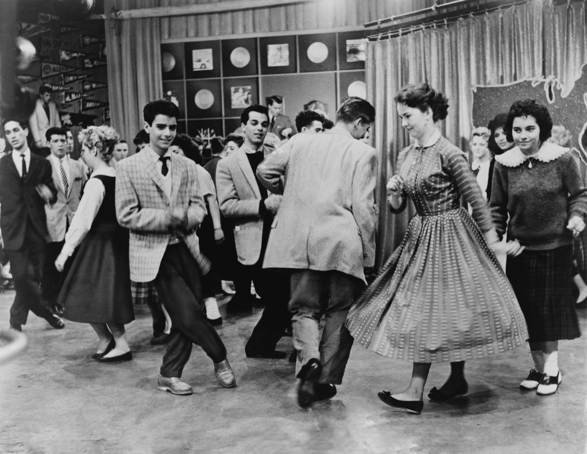 American Bandstand, the twist, 70s