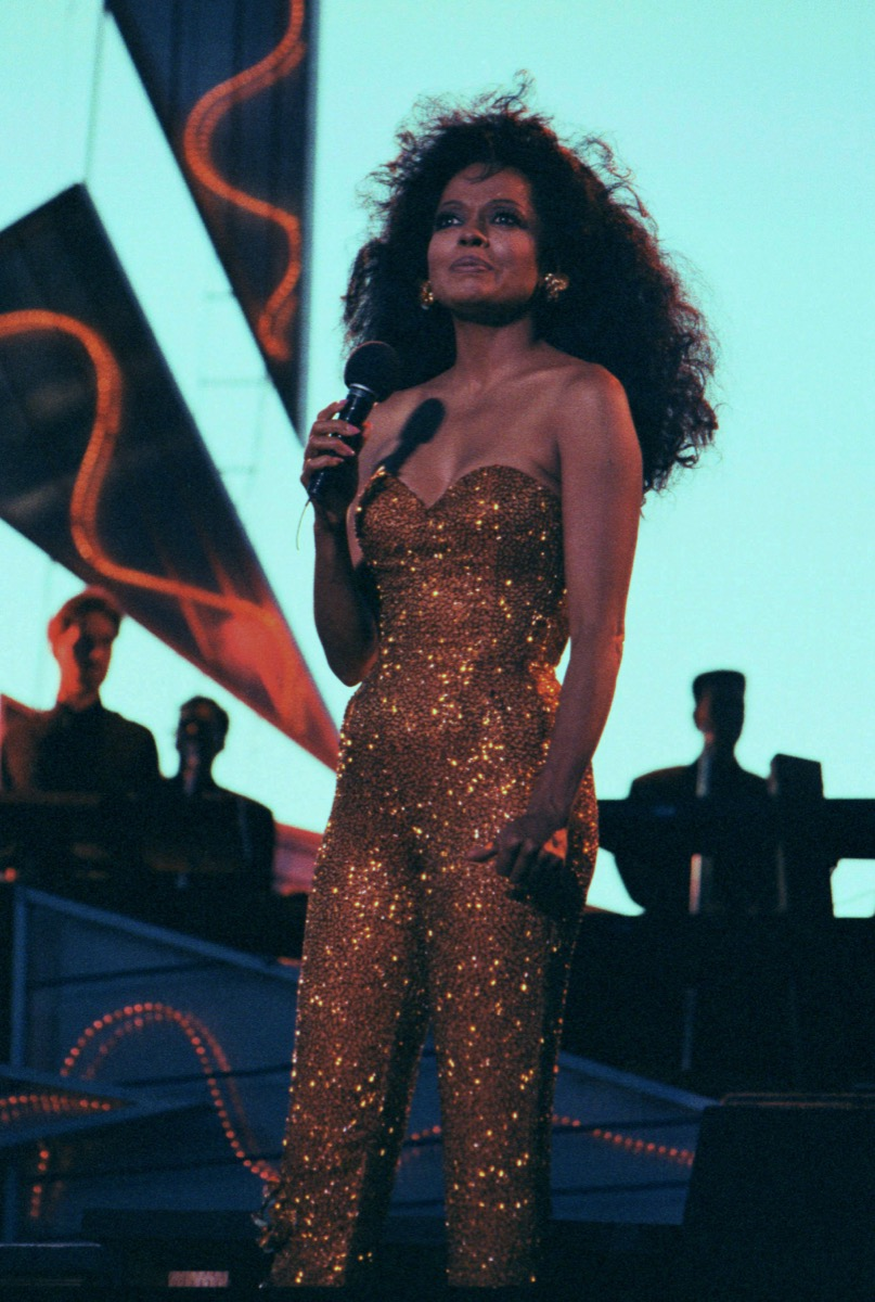 Diana Ross in the 1990s Female Icons