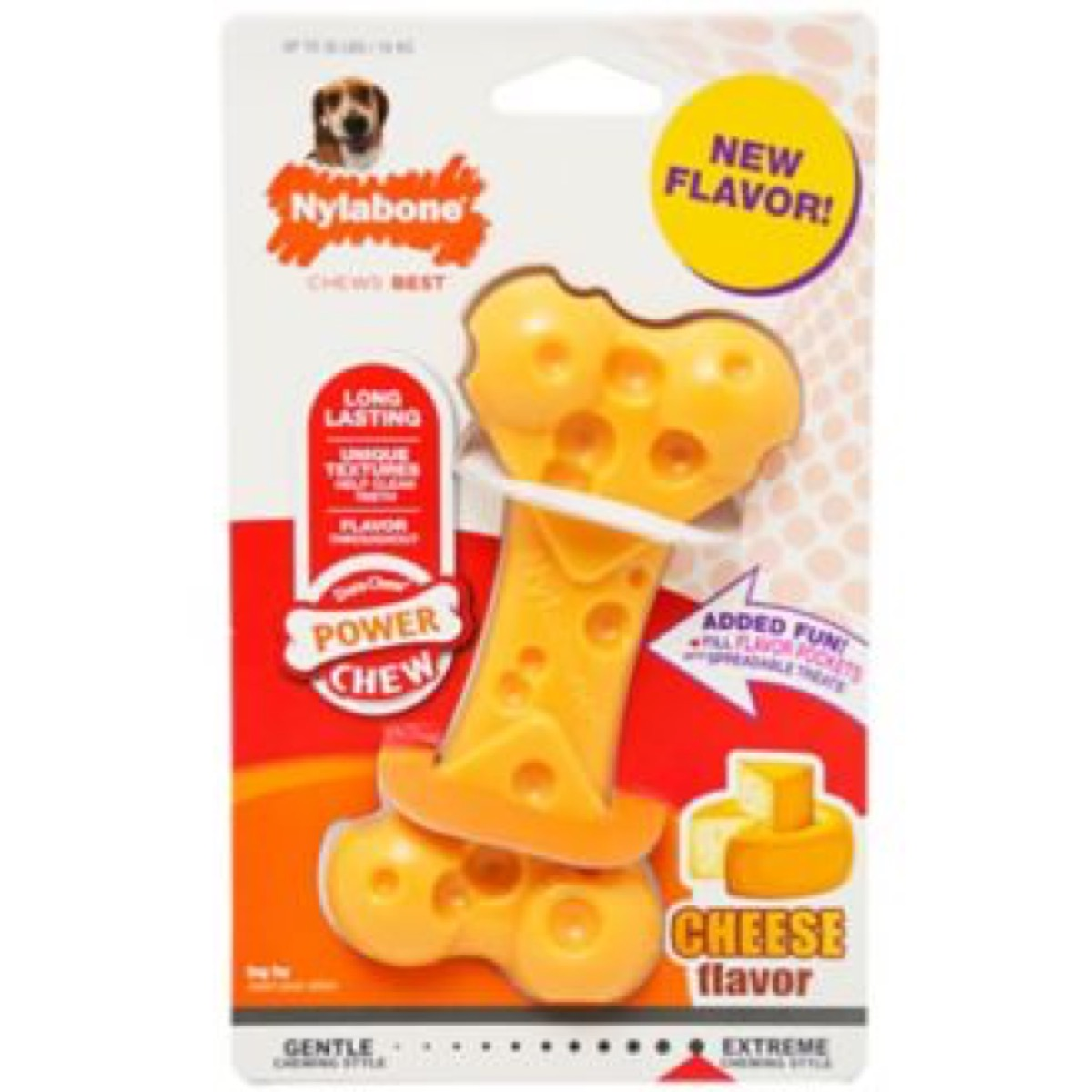 yellow dog bone, best chew toys for puppies