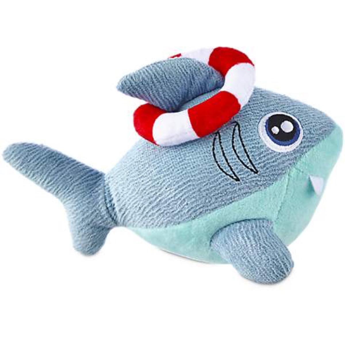 stuffed shark dog toy, best chew toys for puppies