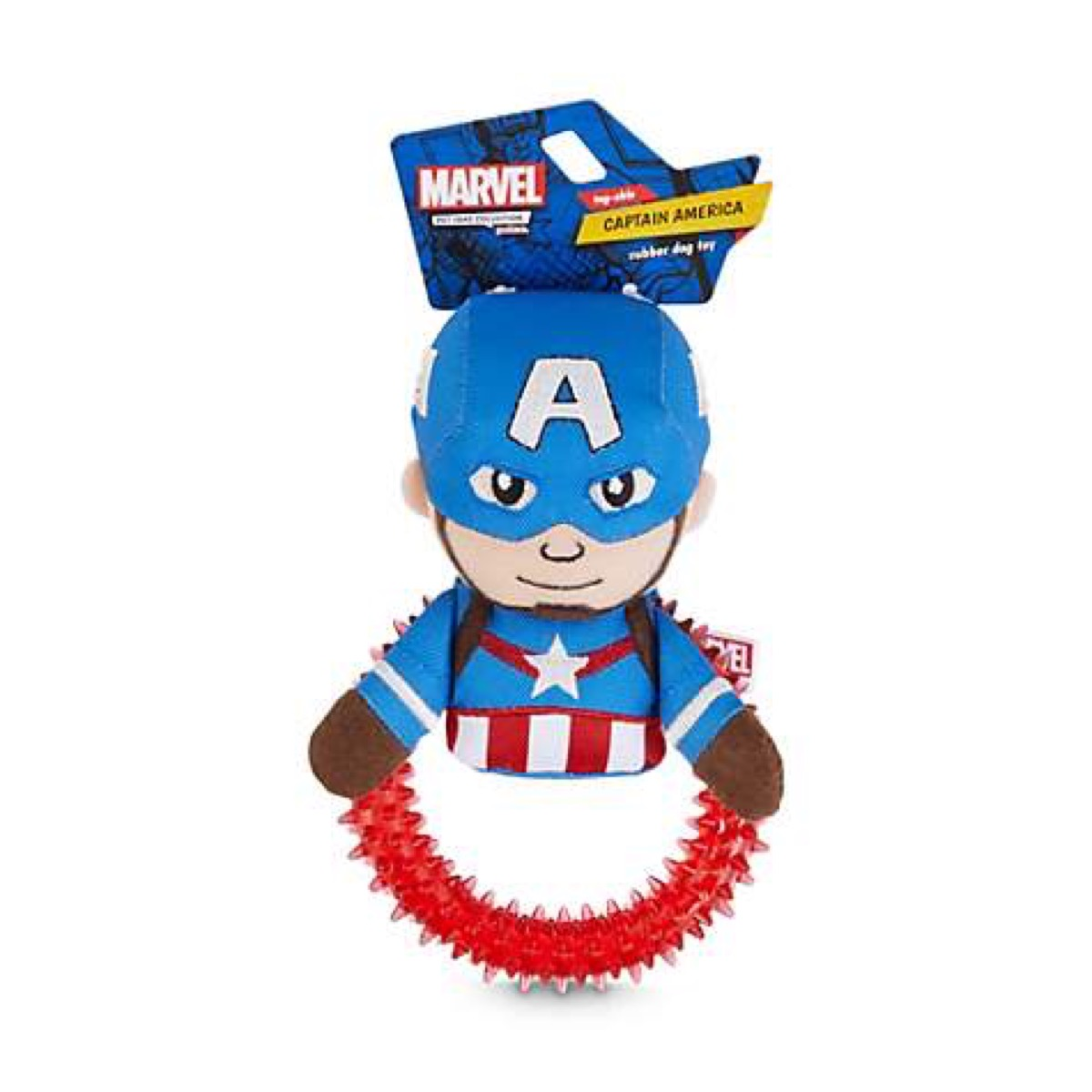 captain america plush dog toy, best chew toys for puppies
