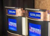 Jeopardy Podiums, Daily Double Jeopardy Questions
