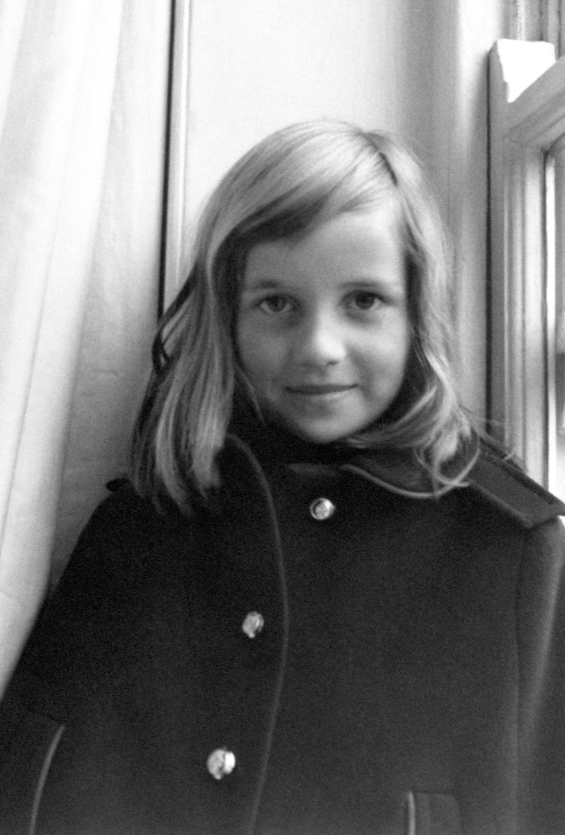 Lady Diana Spencer as a young girl