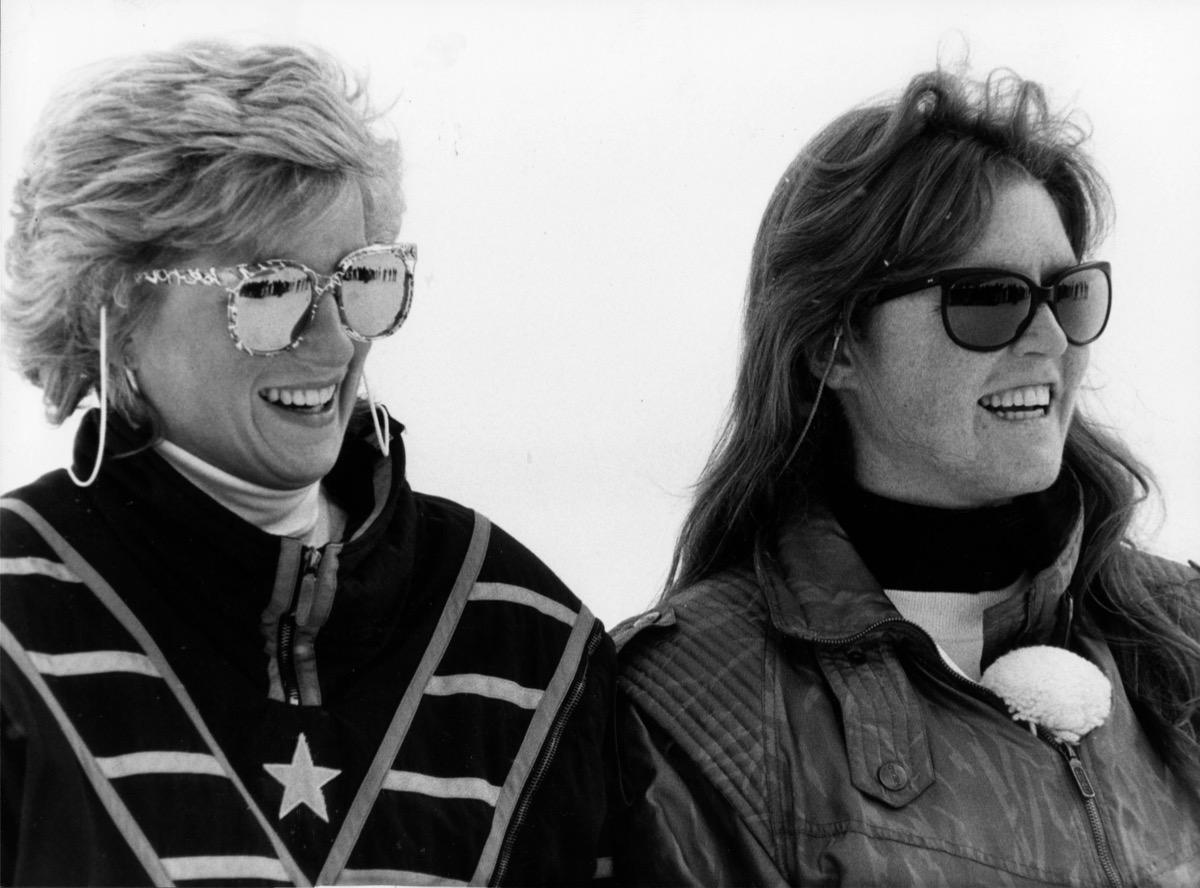 Princess Diana and Duchess of York Sarah Ferguson, myths about Diana