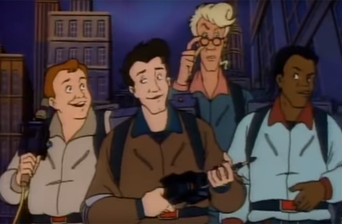 Real Ghostbusters Cartoon 1980s