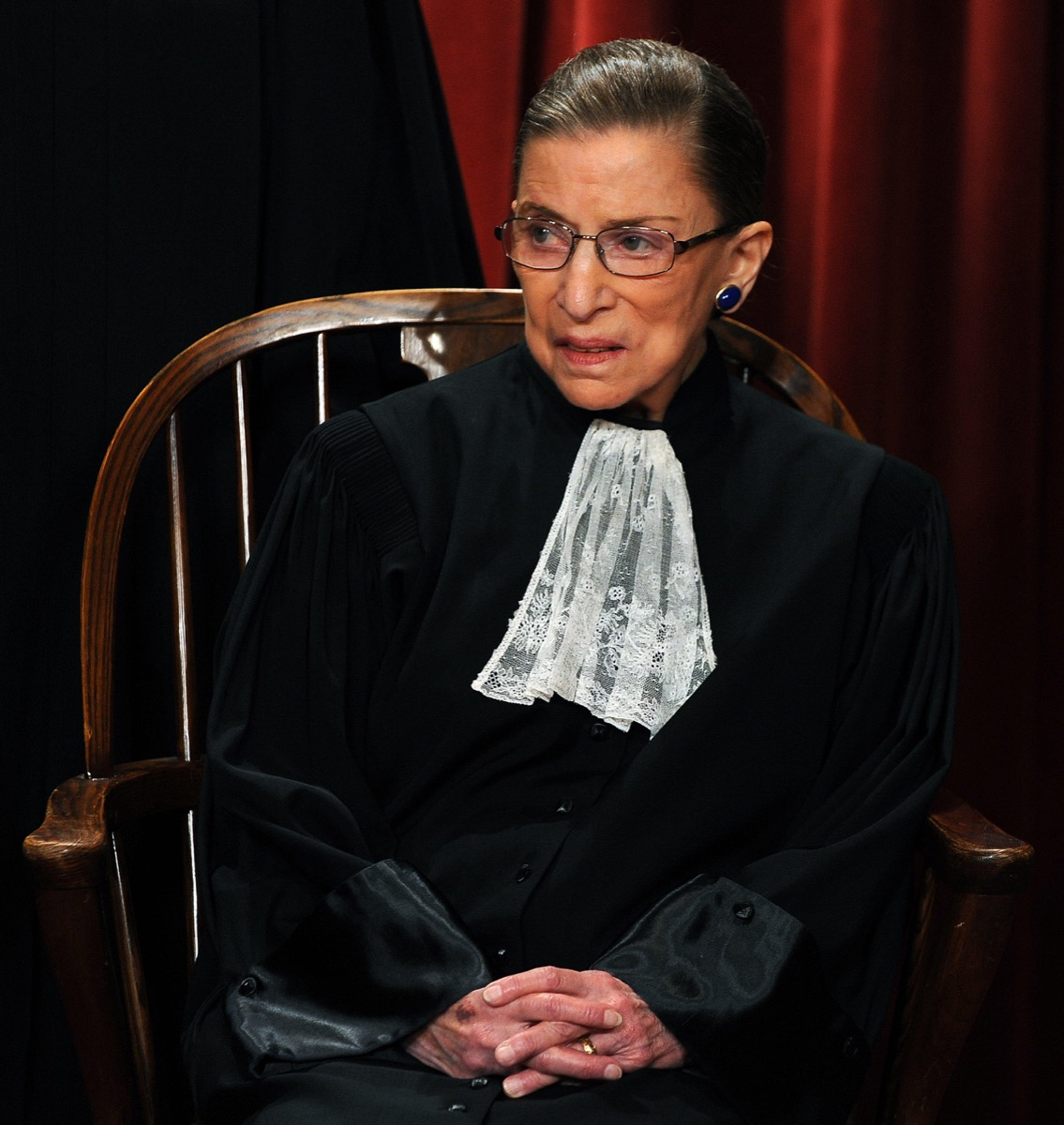 Ruth Bader Ginsburg, Associate Justice Ruth Bader Ginsburg and the Supreme Court Justices of the United States