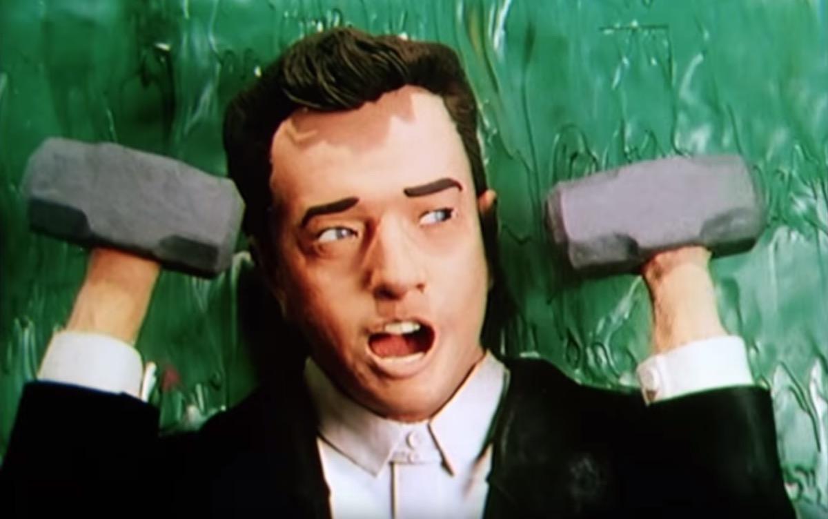 Peter Gabriel Sledgehammer video