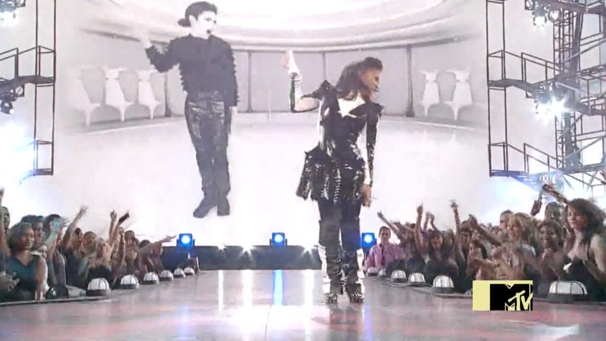 Janet jackson michael Jackson performance