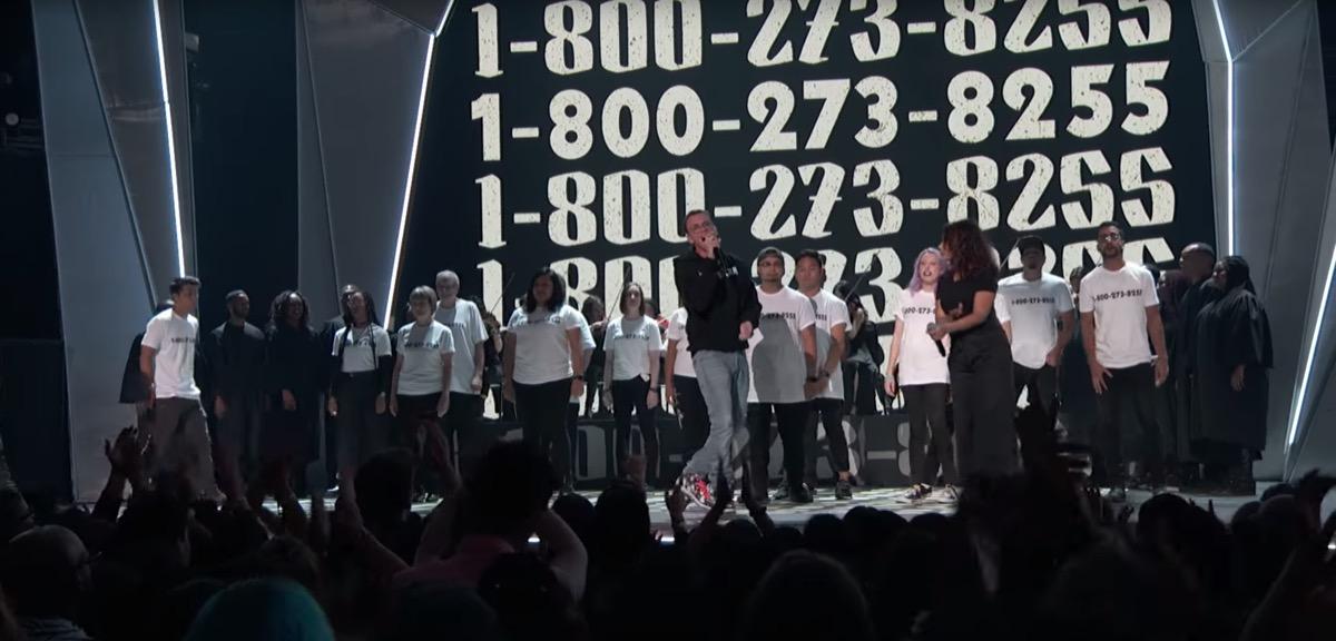 Logic at the 2017 VMA awards - most memorable VMA performances