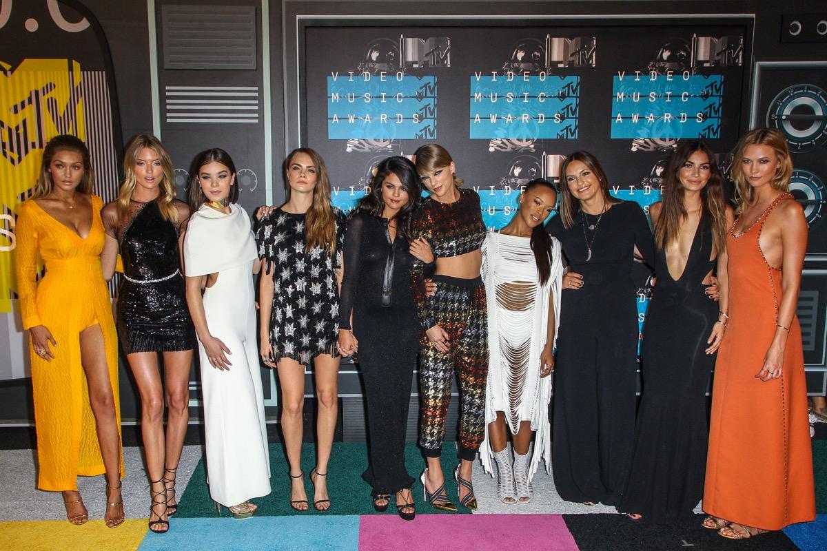 Taylor Swift, Selena Gomez, Gigi Hadid and more at MTV VMAs