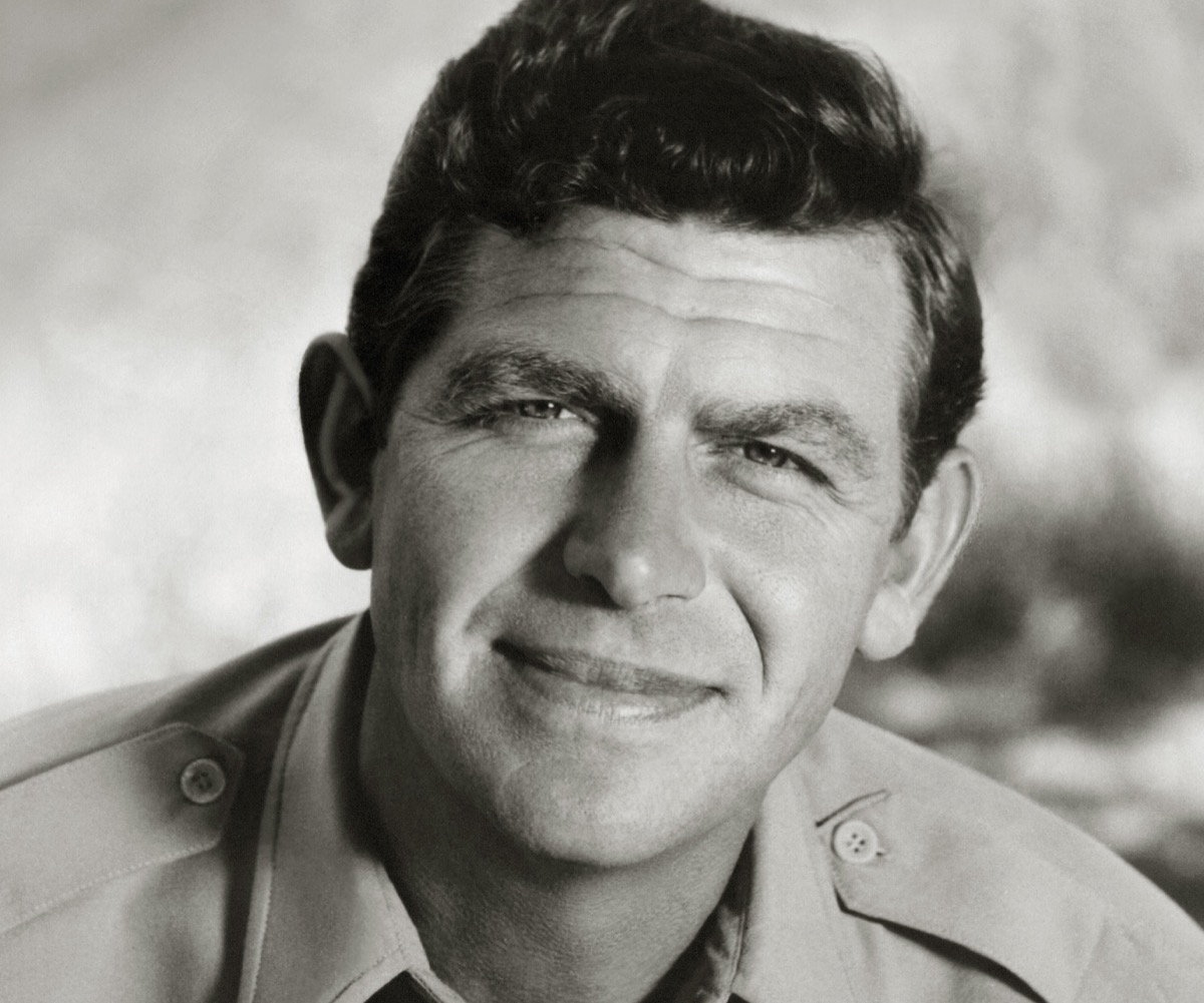 """Andy Griffith in """"The Andy Griffith Show"""""""