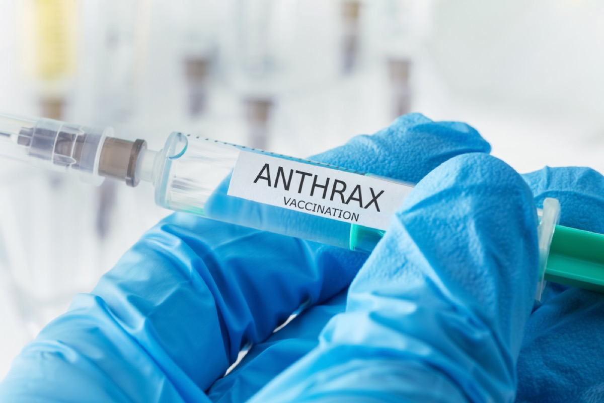 anthrax vaccine, contagious conditions
