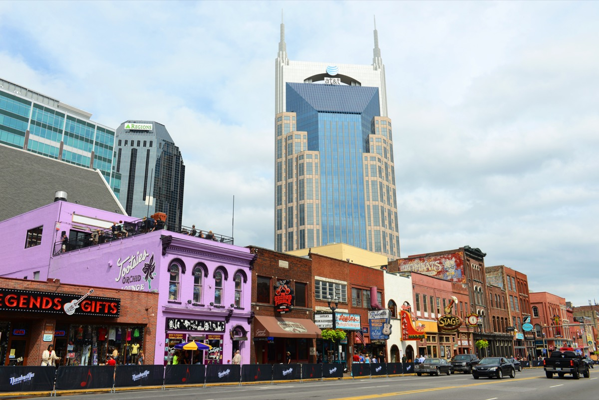 at and t building in nashville tennessee
