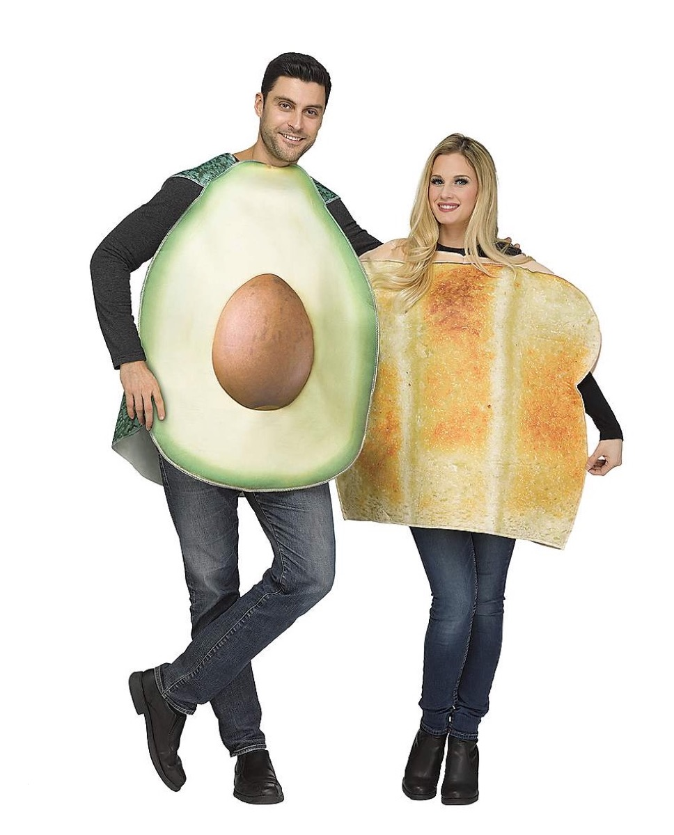 avocado toast costume, best halloween costumes