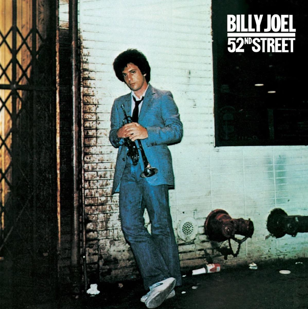 "Billy Joel ""52nd Street"" album cover"