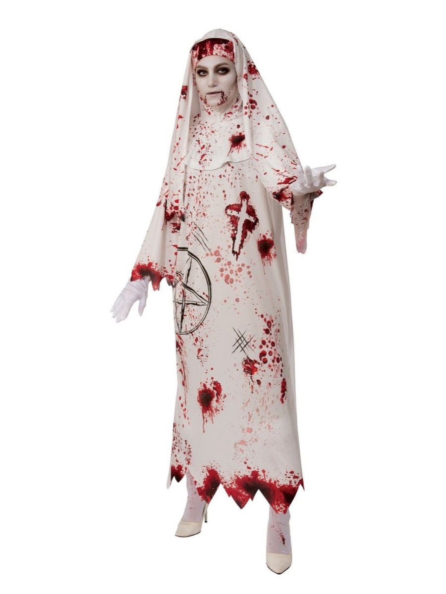 bloody nun costume, best halloween costumes