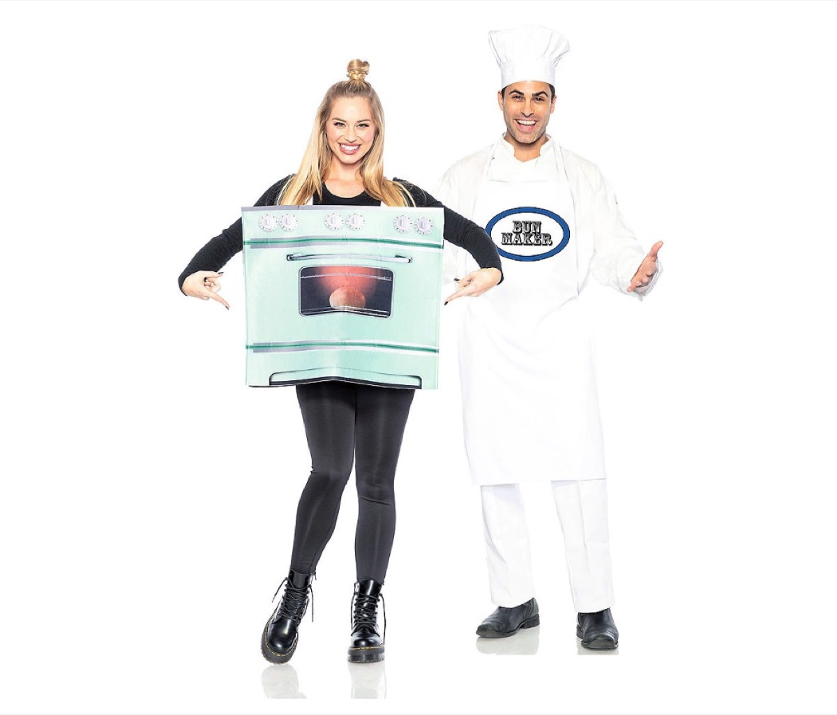 chef and oven costume, best halloween costumes