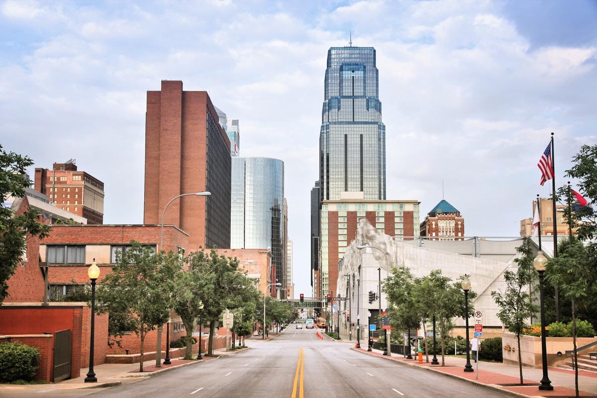 cityscape photo of downtown Kansas City, Missouri