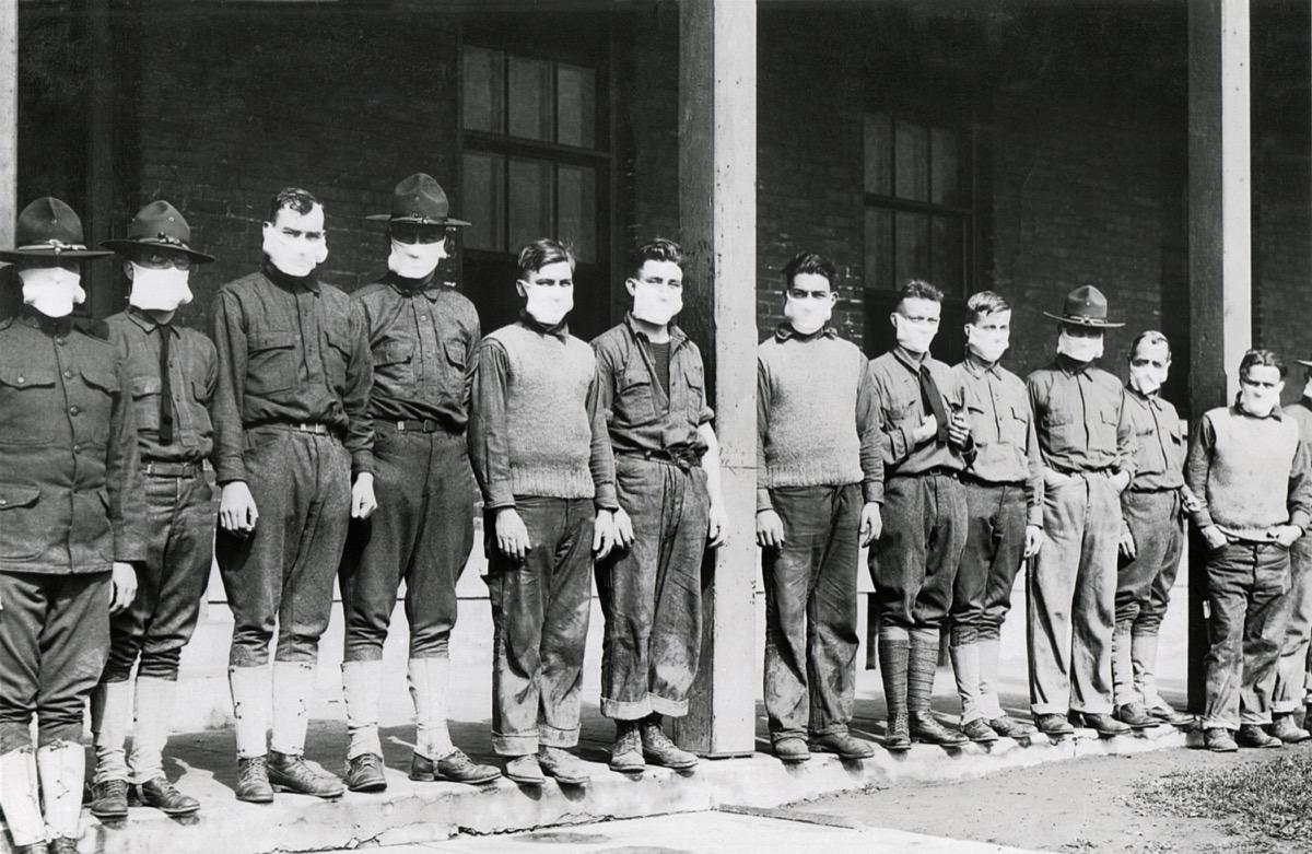 flu epidemic 1918