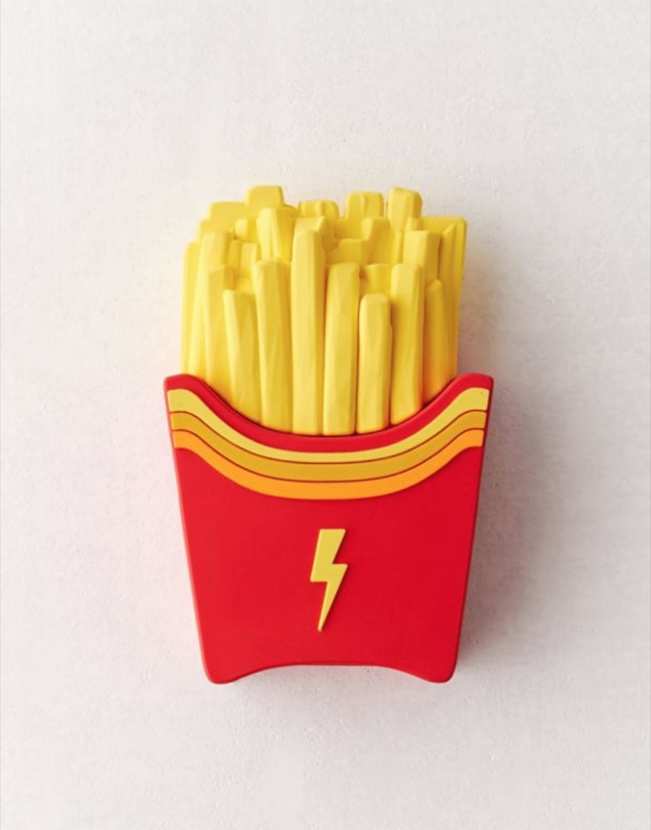 phone charging bank that looks like french fries, best gifts for college students