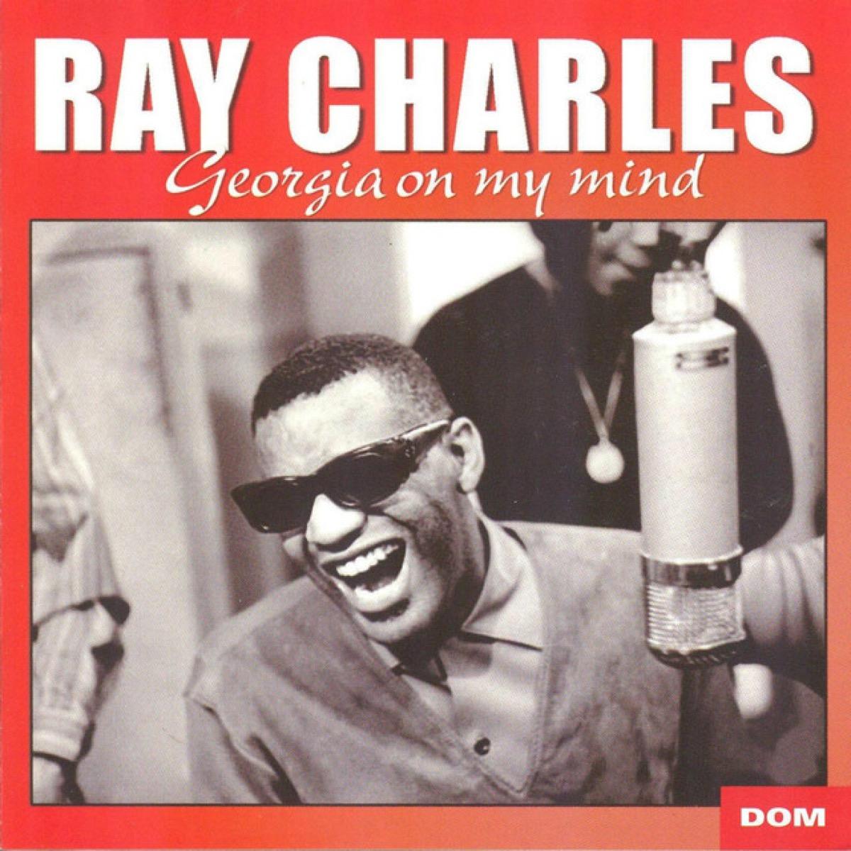 "Ray Charles ""Georgia on My Mind"" single cover"