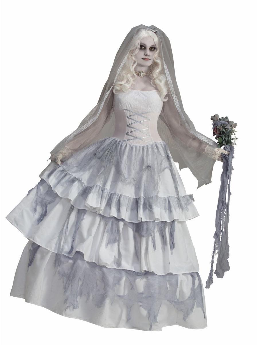 ghost bride, best halloween costumes