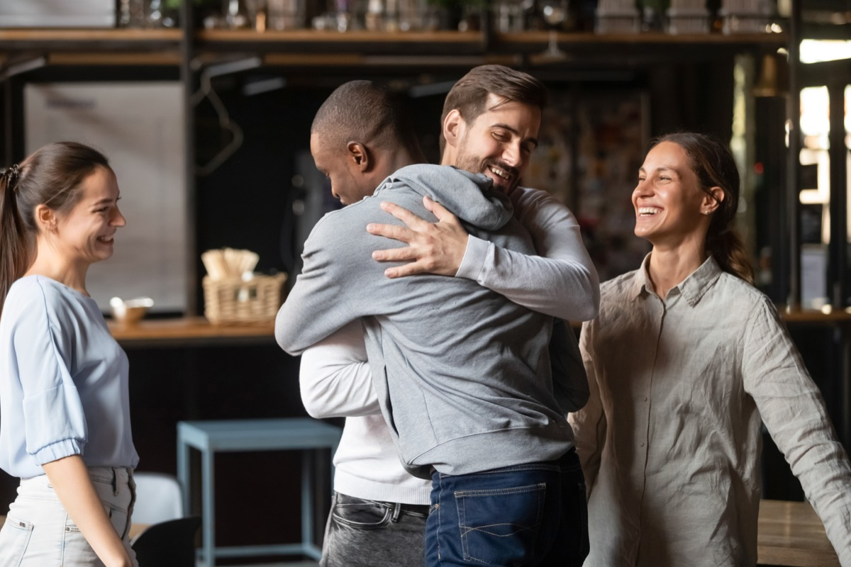 girl hanging out with boyfriend's friends things he's not telling you