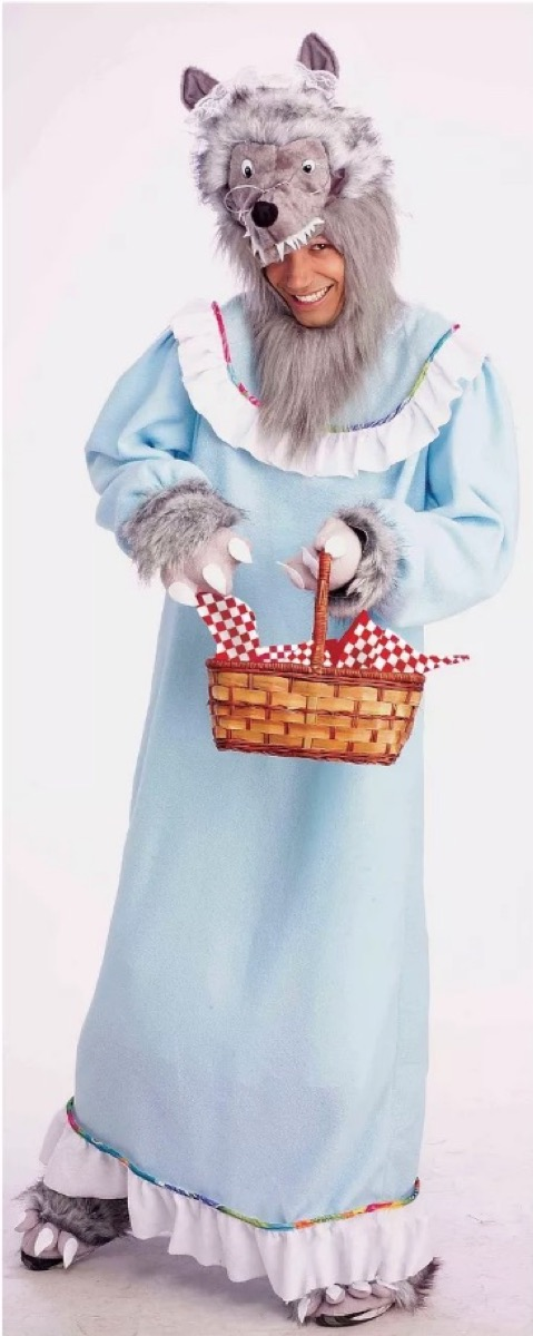 granny wolf costume, target halloween costumes