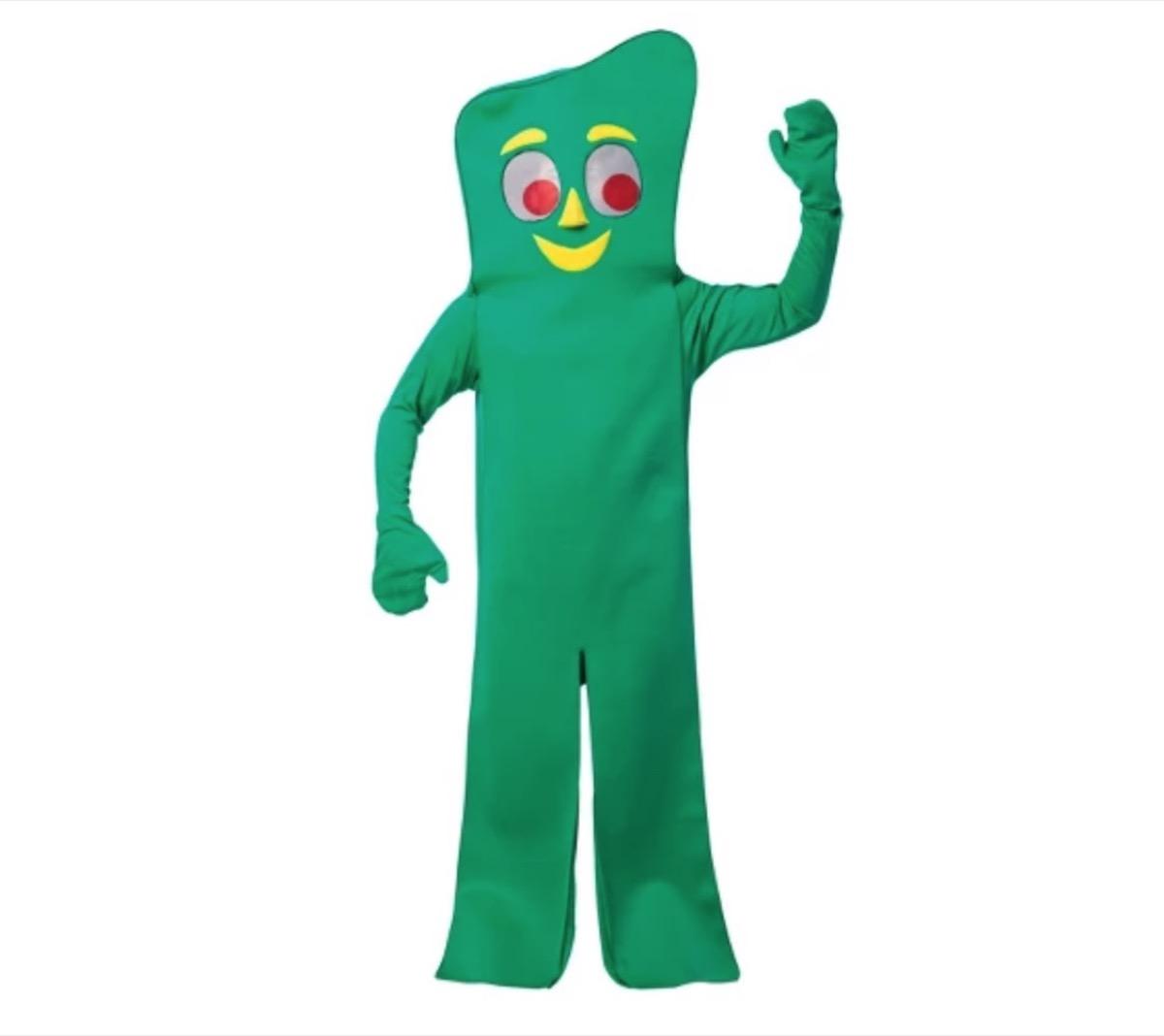 Gumby costume, target halloween costumes