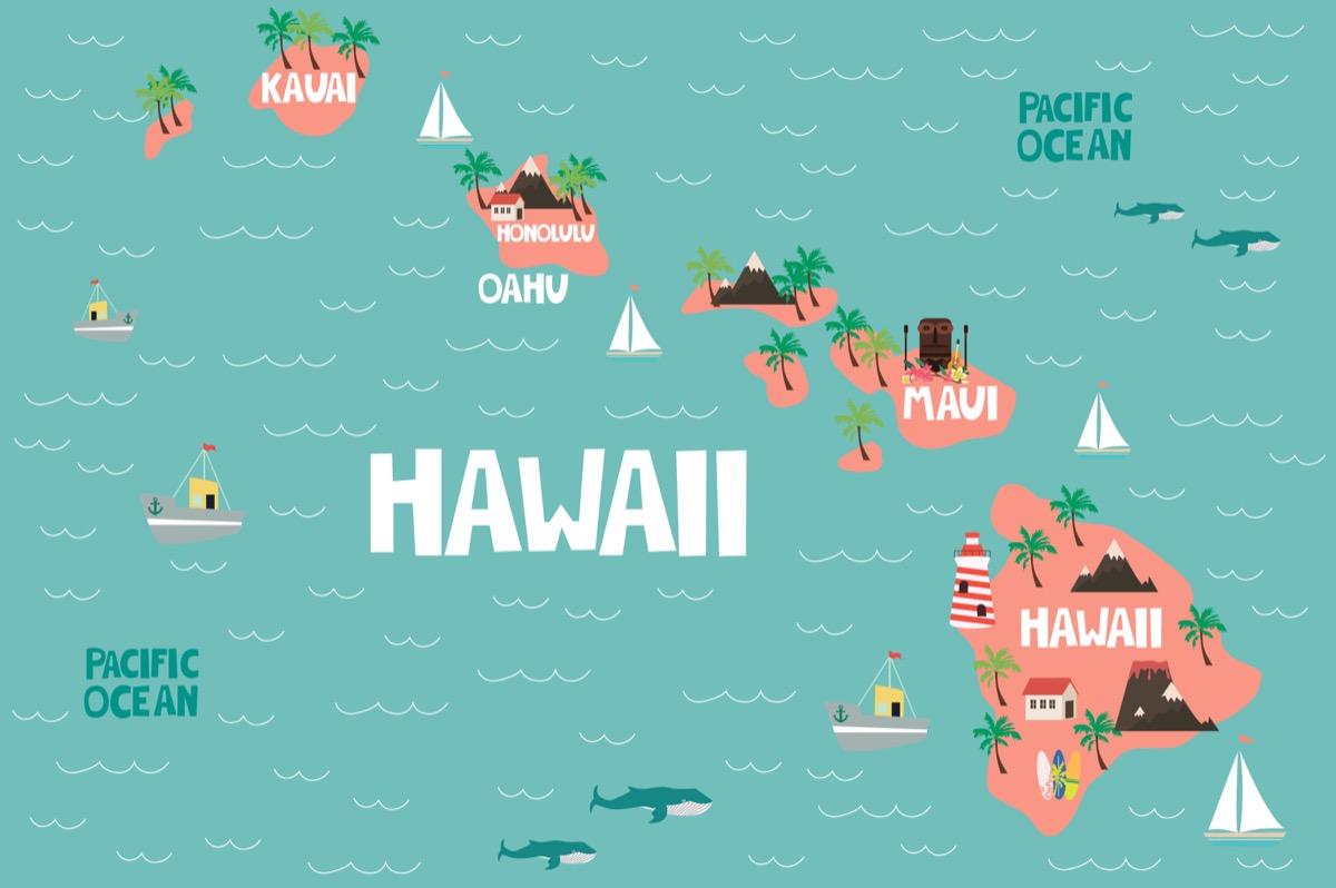 hawaii U.S. state 1990s-era news stories