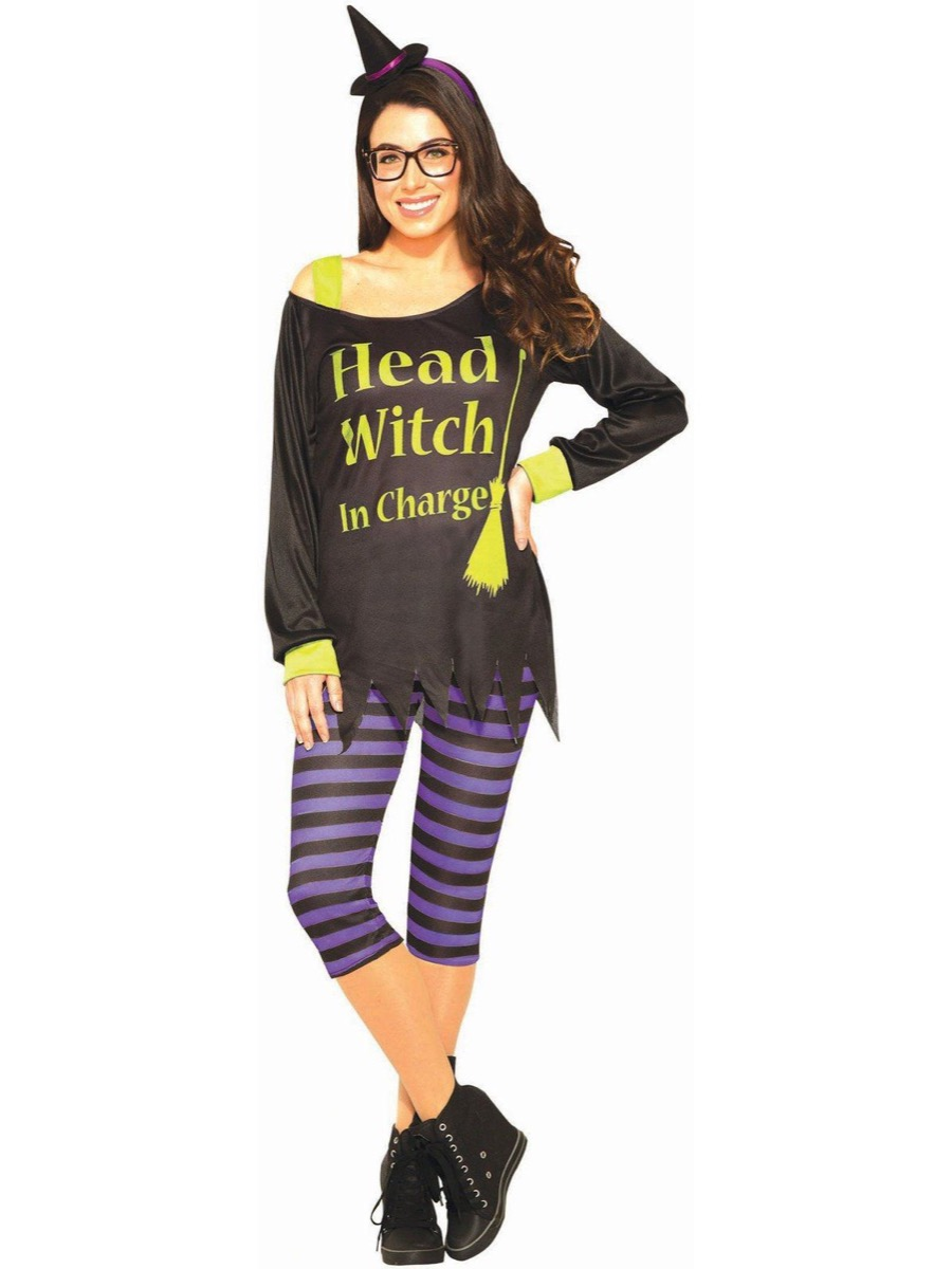 head witch in charge costume, best halloween costumes