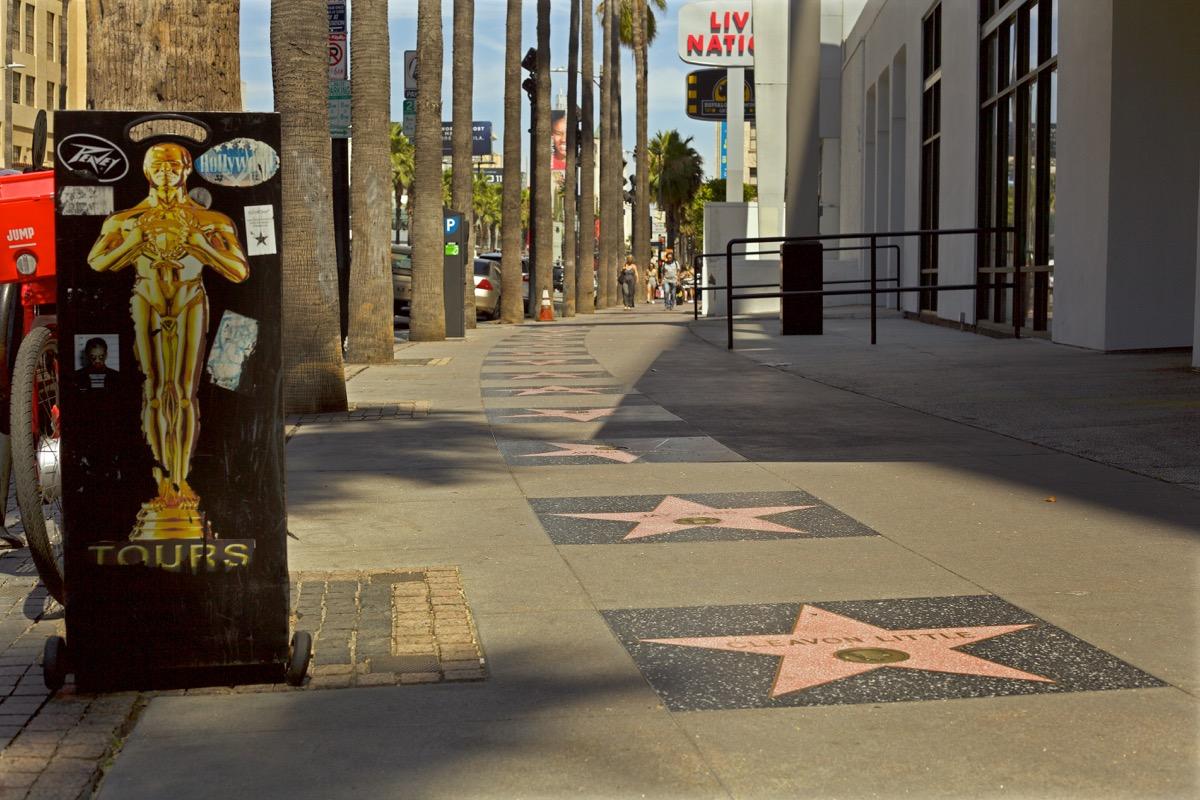 hollywood walk of fame, crazy kardashian facts
