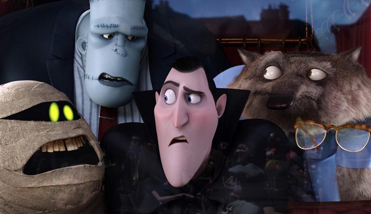 hotel transylvania movie still, best halloween movies for kids