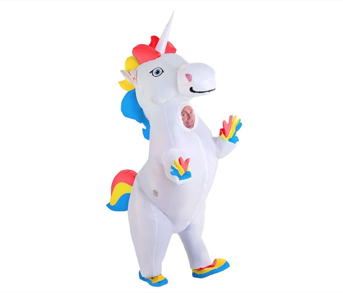 inflatable unicorn costume, best halloween costumes