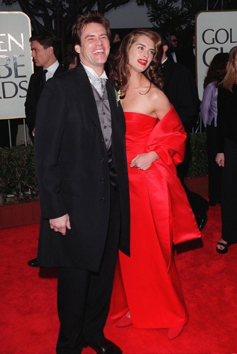 Jim Carrey and Brooke Shields