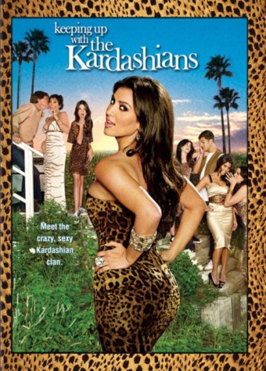 kardashian dvd cover
