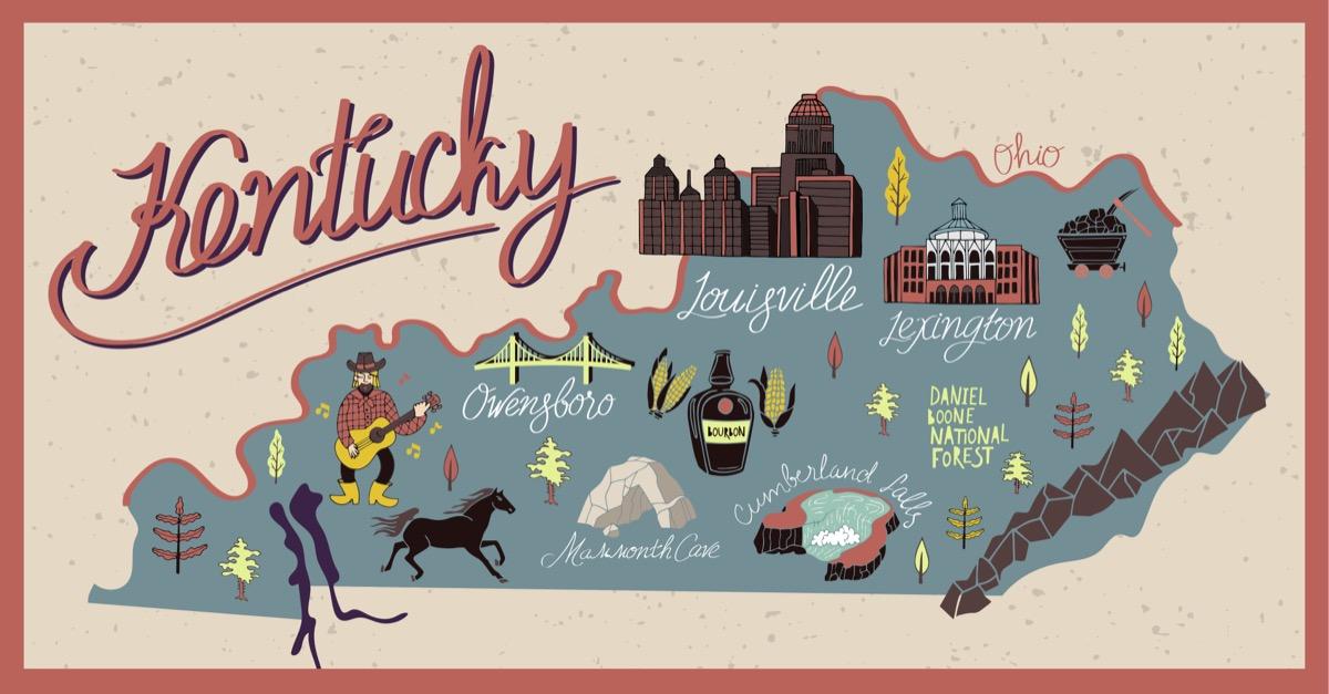 kentucky U.S. state 1990s-era news stories