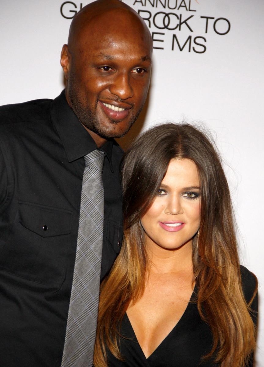 khloe kardashian and lamar odom, crazy kardashian facts