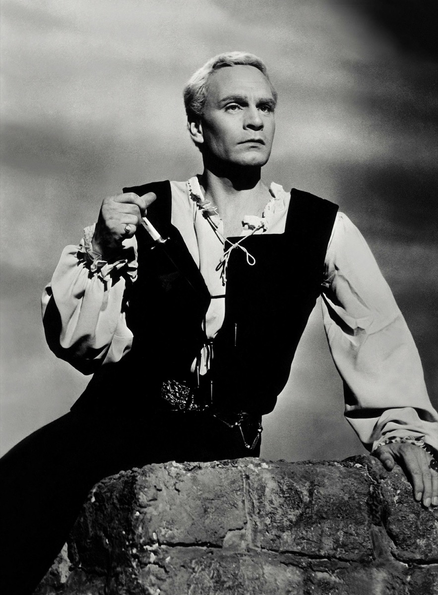 "Laurence Olivier in ""Hamlet"""
