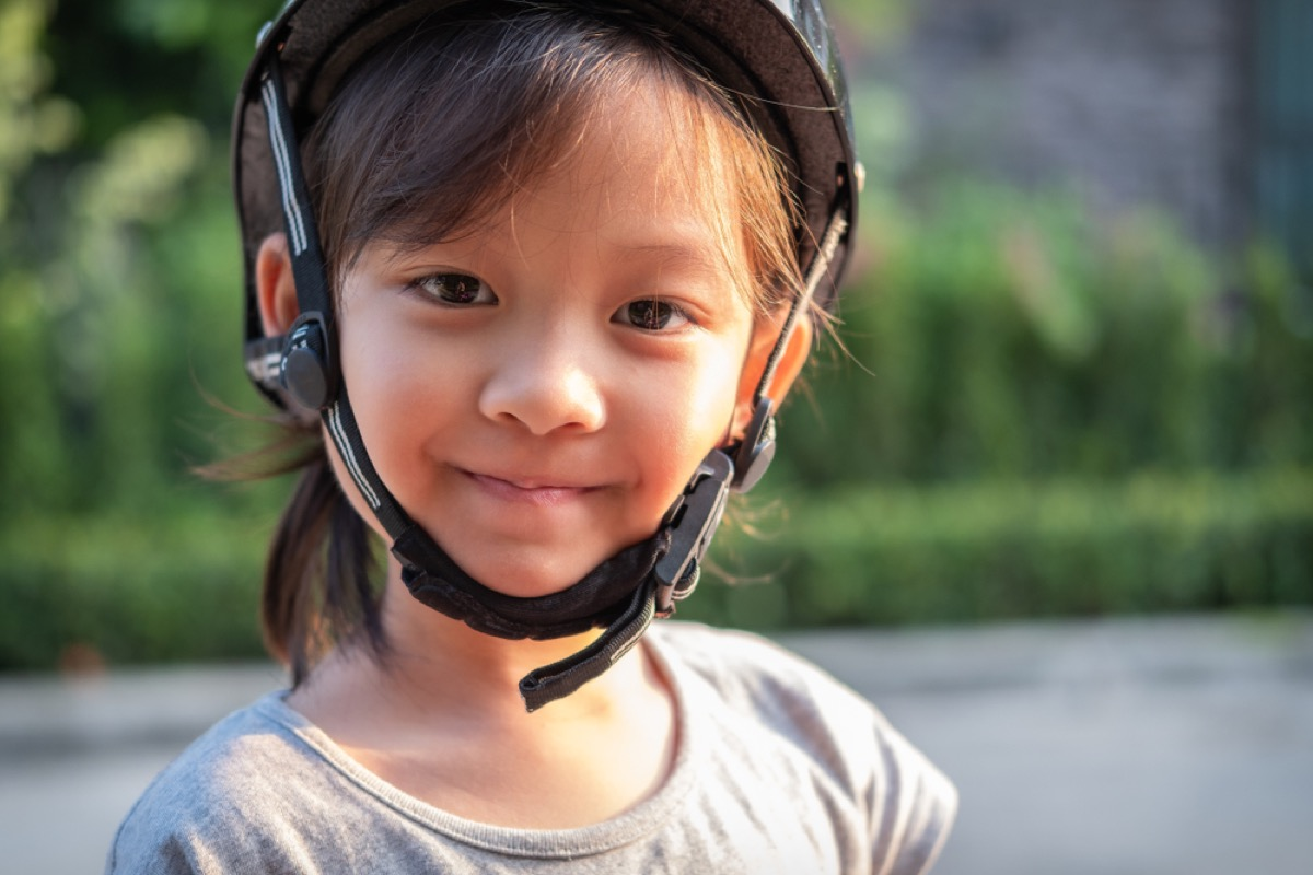 girl in helmet, things that annoy grandparents