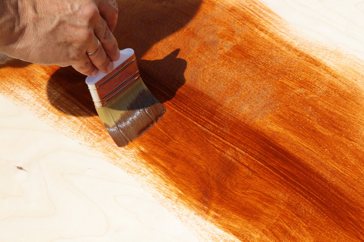 man working on untreated wood things in your house attracting pests