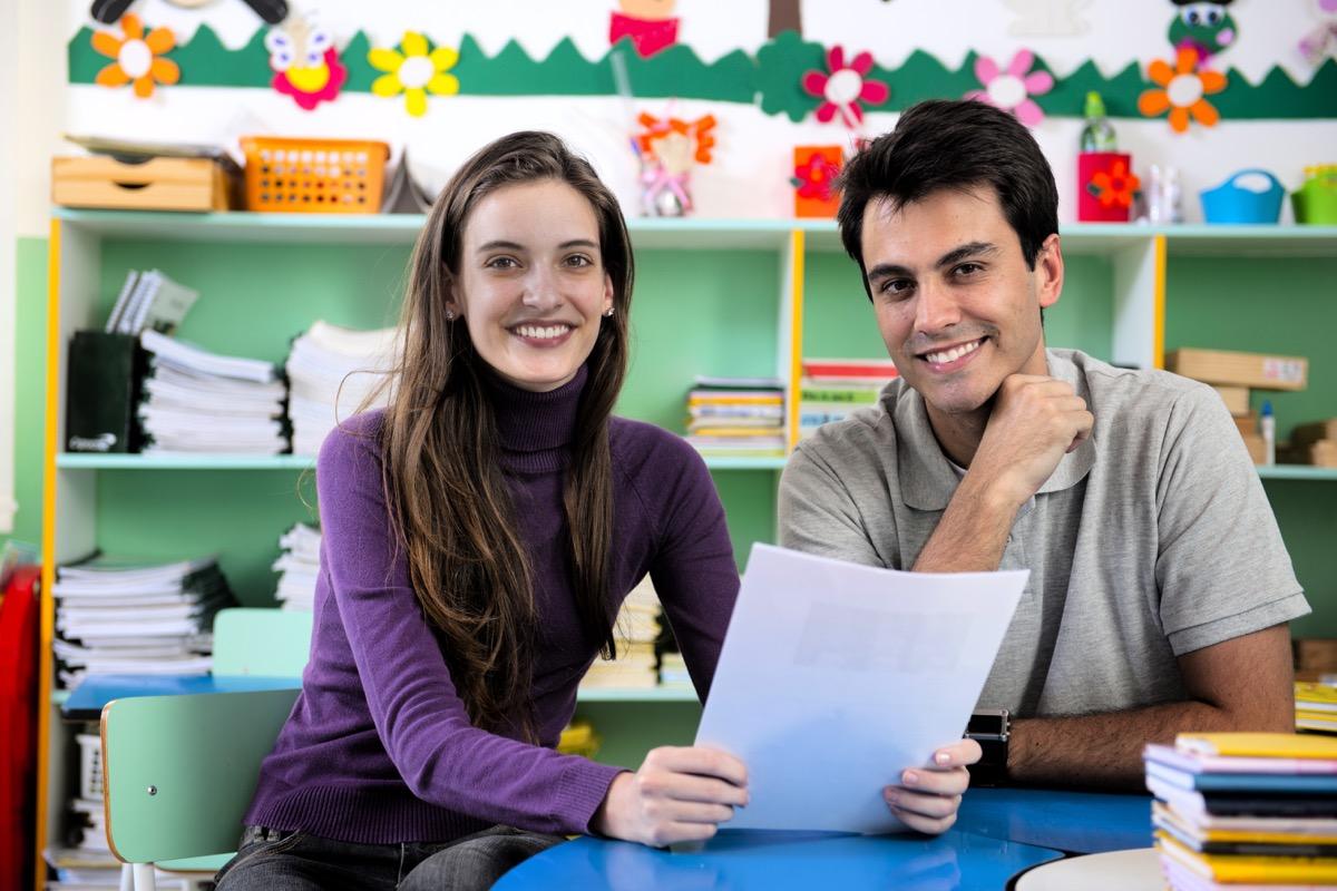 meeting between teacher and parent lies teachers tell parents